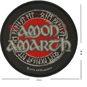 Amon Amarth - Logo Patch