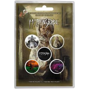 MY DYING BRIDE BUTTON BADGE PACK: THE GHOST OF ORION