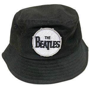 THE BEATLES UNISEX BUCKET HAT: DRUM LOGO