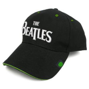 THE BEATLES UNISEX BASEBALL CAP: DROP T LOGO