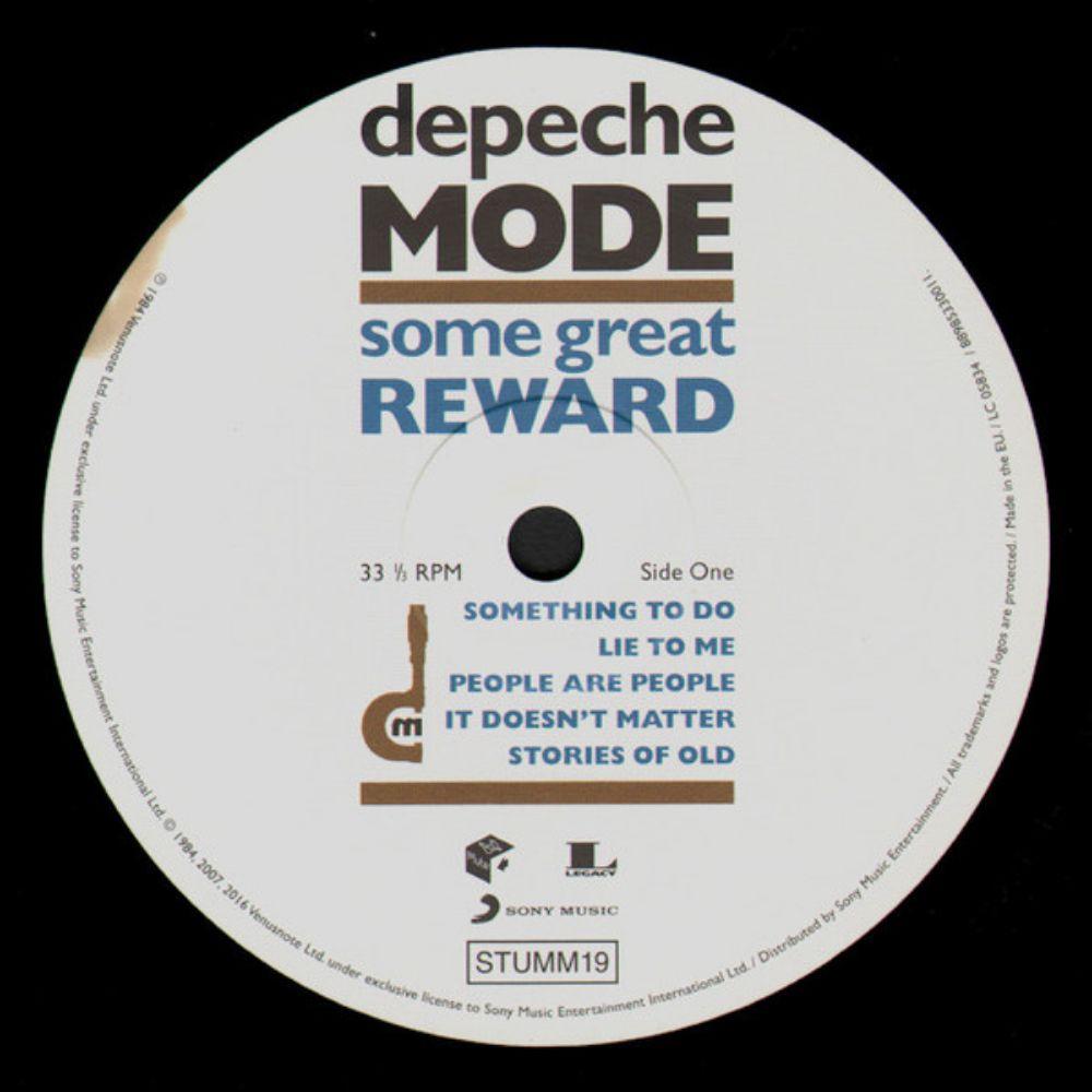 Depeche Mode - Some Great Reward - 2