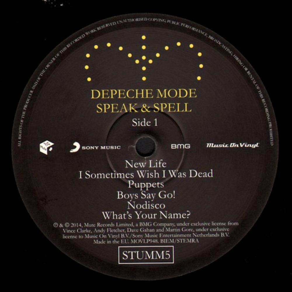 Depeche Mode - Speak & Spell - 2