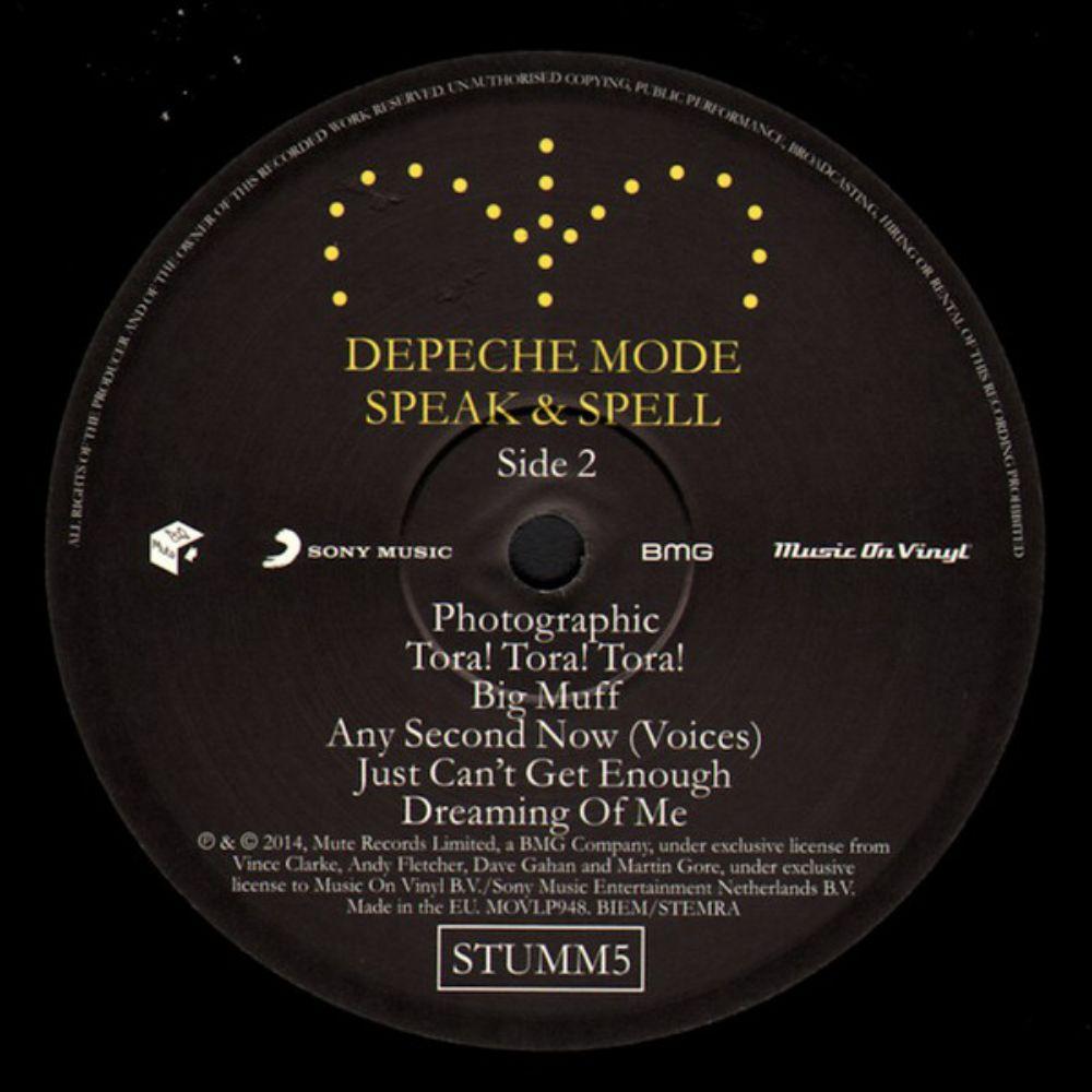 Depeche Mode - Speak & Spell - 3
