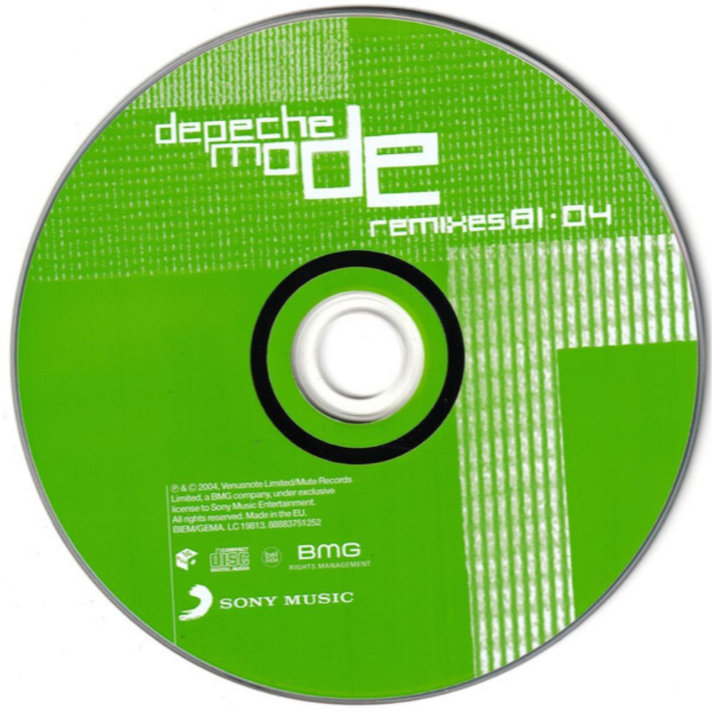 Depeche Mode – Remixes 81·04  - 2