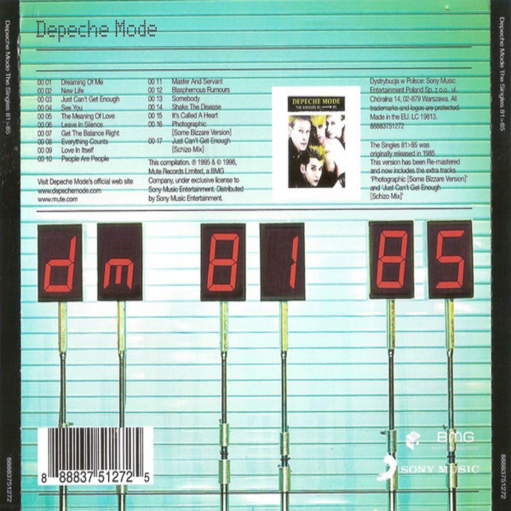 Depeche Mode - The Singles 81>85 - 1