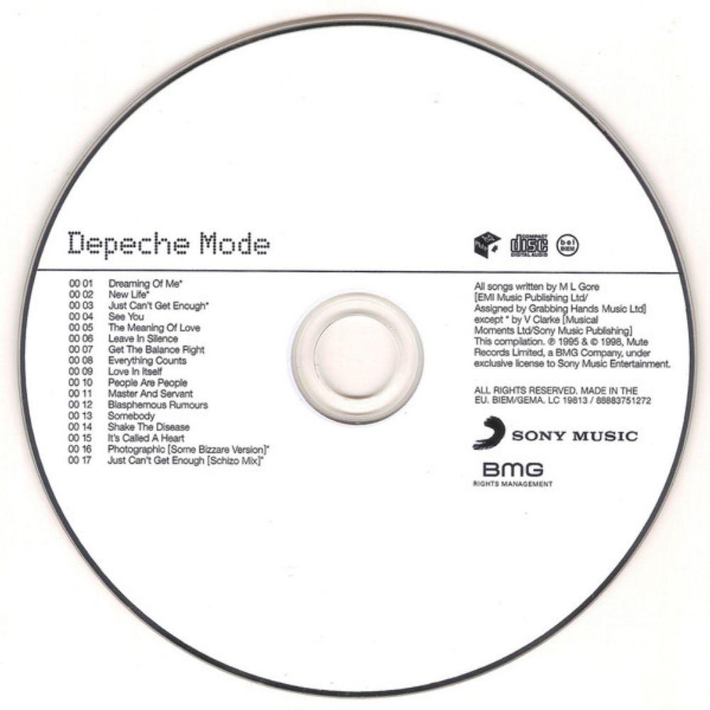 Depeche Mode - The Singles 81>85 - 2