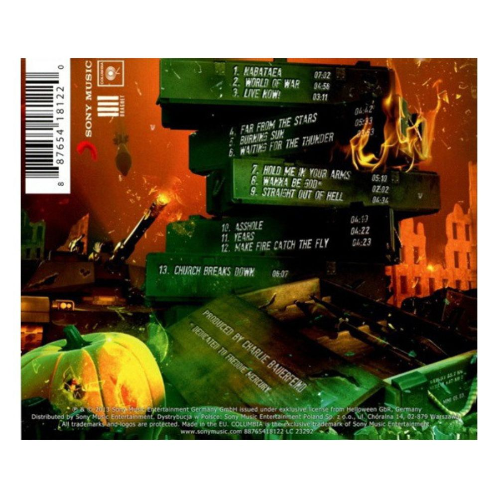 Helloween - Straight Out Of Hell - 1