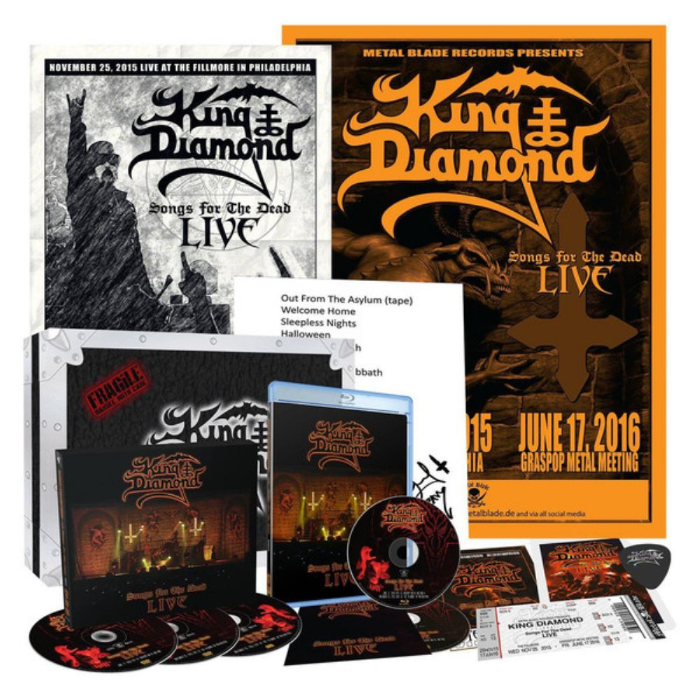 King Diamond – Songs For The Dead Live  - 2