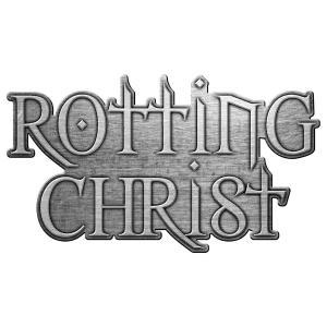 ROTTING CHRIST PIN BADGE: LOGO