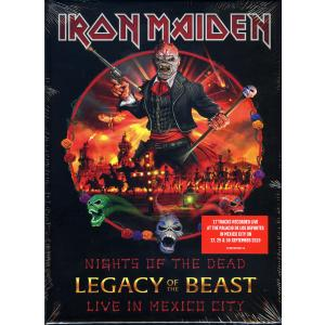Iron Maiden – Nights Of The Dead, Legacy Of The Beast: Live In Mexico City Deluxe Edition