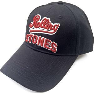 THE ROLLING STONES UNISEX BASEBALL CAP: TEAM LOGO