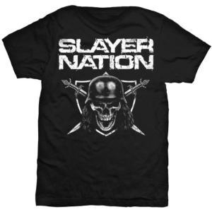 SLAYER UNISEX TEE: SLAYER NATION