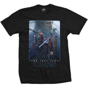 STAR WARS UNISEX TEE: EPISODE VIII THE FORCE COMPOSITE