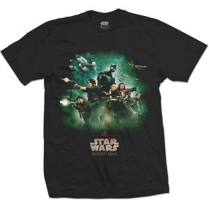 STAR WARS UNISEX TEE: ROGUE ONE REBELS POSTER