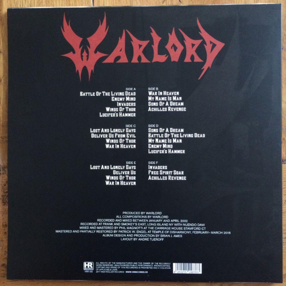 Warlord - Rising Out Of The Ashes - 1