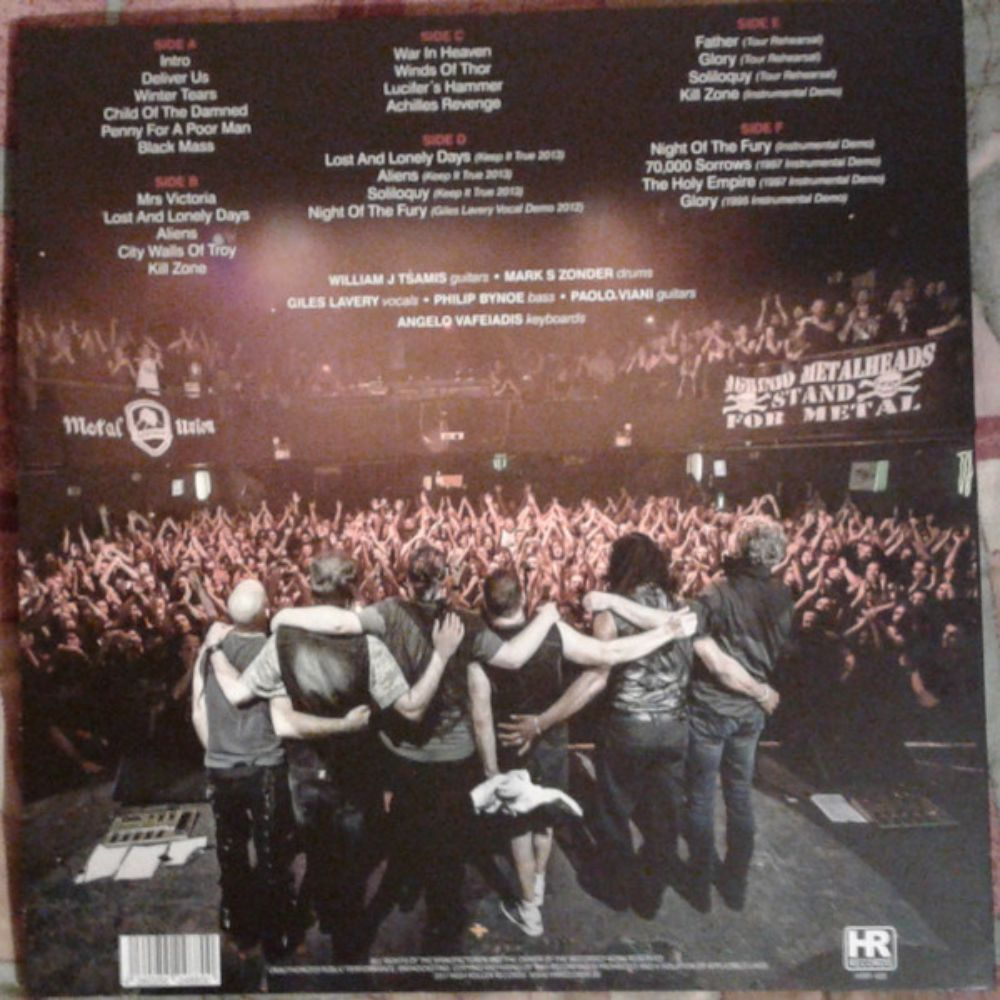 Warlord - Live in Athens 2013 - 1