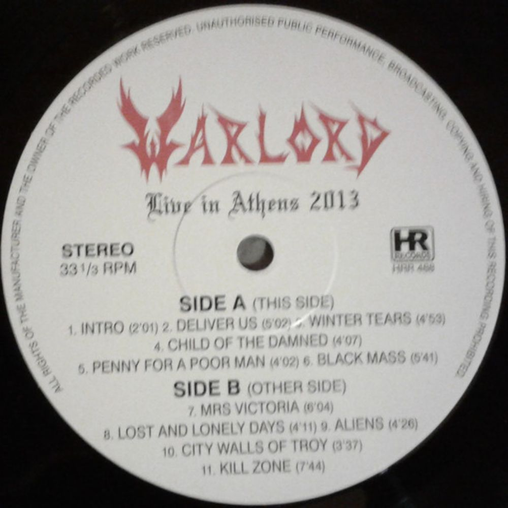 Warlord - Live in Athens 2013 - 2
