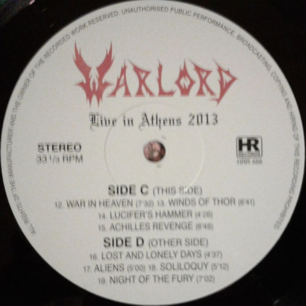 Warlord - Live in Athens 2013 - 3