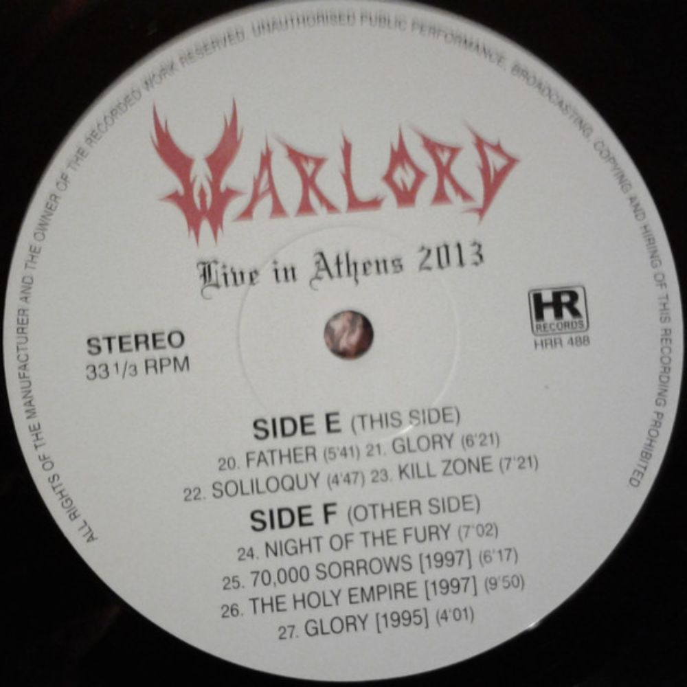 Warlord - Live in Athens 2013 - 4