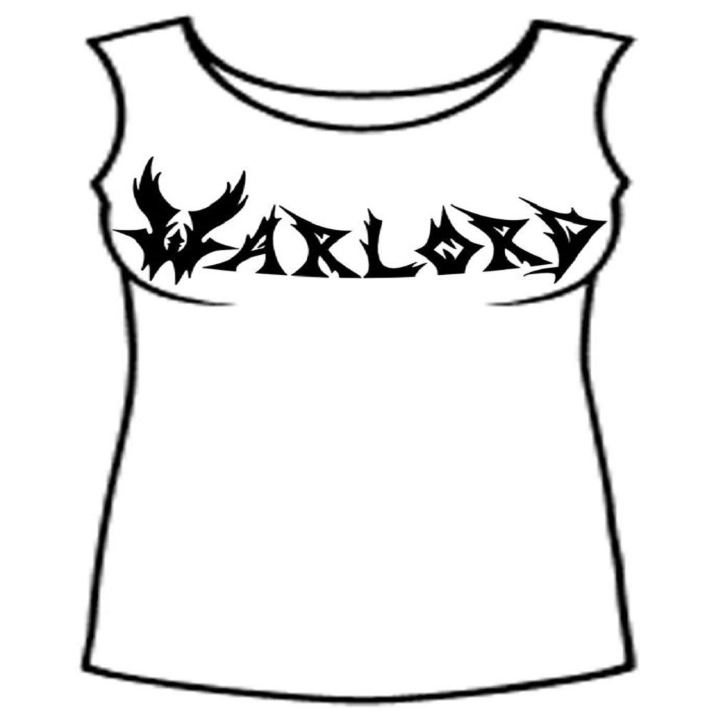 Warlord White - Black Logo