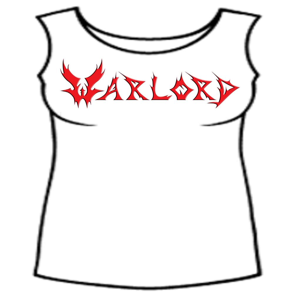 Warlord White - Red Logo