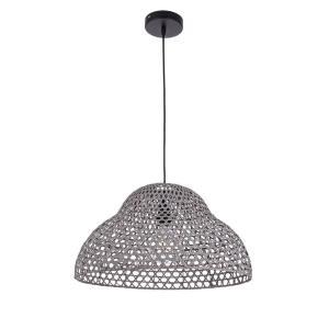 Φωτιστικό οροφής Astro Grey Ø50x27h 0827935 Bizzotto - 28607