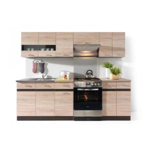 Πακέτο Κουζίνας Junona 240 Dab Sonoma BRW - 23579