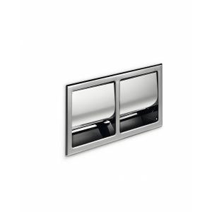 Χαρτοθήκη τοίχου διπλή εντοιχιζόμενη Hotellerie A8029DAL Inda - 23127