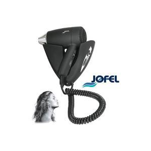 Σεσουάρ μαλλιών 3 θέσεων μαύρο 1400w με βάση τοίχου AB65000NC Jofel - 23474