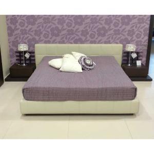 Κρεβάτι διπλό Filo Trap Leather Caccaro - 25354