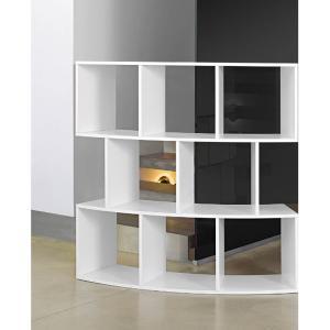 Βιβλιοθήκη με καμπύλη River P406X Antonello - 25314