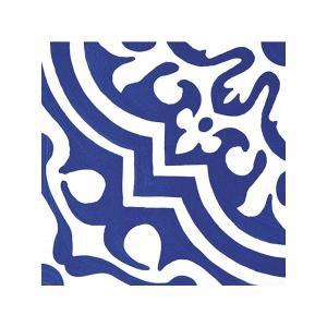 Πλακάκι 50x50 Capri Bianco/Blu Naturalle Cedir - 25219