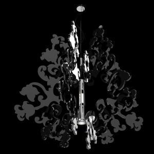 Φωτιστικό Anastacha Plated Nickel-Black Terzani - 25346