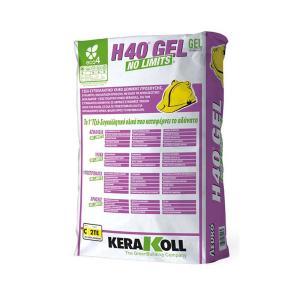 Κόλλα πλακιδίων H40 Gel No Limits 25kg Kerakoll - 25009