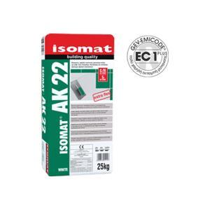 Κόλλα πλακιδίων λευκή AK22 Isomat 25kg - 22836