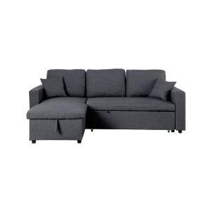 Καναπές-κρεβάτι γωνία αναστρέψιμος ύφασμα Montreal - 24776