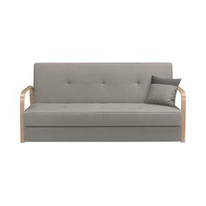 Καναπές-κρεβάτι Tomas 3K Γκρι 198x91x90 Brw - 25110