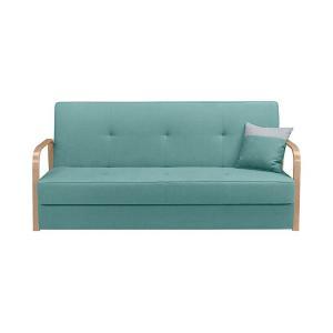 Καναπές-κρεβάτι Tomas 3K σιέλ 198x91x90 Brw - 25112