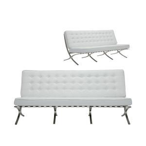 Καναπές 3θέσιος pu Barcelona - 23865