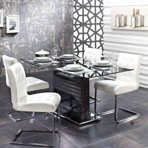 Καρέκλα Bianco Plus inox/δέρμα Dogtas - 25213