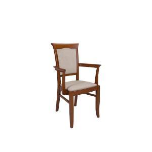 Καρέκλα με μπράτσα Kent EKRS_P Brw - 25013