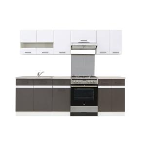 Πακέτο Κουζίνας Junona 240 white/grey BRW - 24596