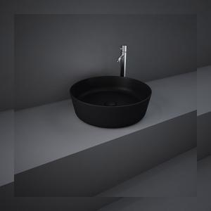 Νιπτήρας επιτραπέζιος Matt Black Ø42 Feeling Rak - 24243