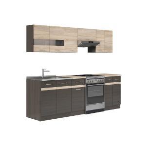 Πακέτο Κουζίνας Junona 240 Wenge-Dab Sonoma BRW - 24580