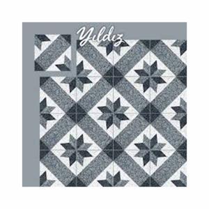 Πλακάκι 20x20 Yildiz Black 1ης διαλογής Hitit - 23659