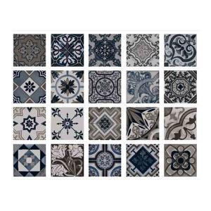 Πλακάκι 22,5x22,5 Vintage Marengo Mix Bestile - 23657