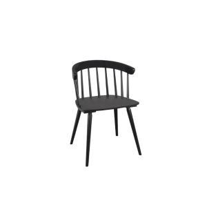 Καρέκλα-πολυθρόνα Patyczak μαύρη Brw - 25108