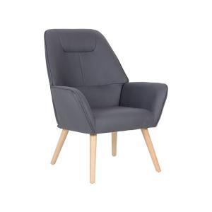 Πολυθρόνα ύφασμα Nabuk K/D Nattaly - 25438