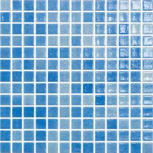 Ψηφίδα 2,5x2,5 Loto Azul Niebla Claro 1ης Διαλογής Armonie - 23645