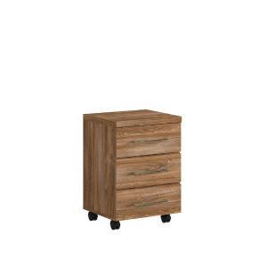Συρταριέρα τροχήλατη Gent KON3S/6/4 Brw - 23883